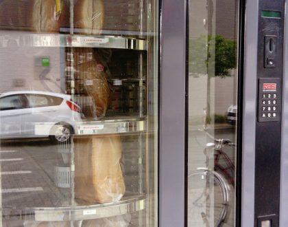 Máquinas expendedoras de pan