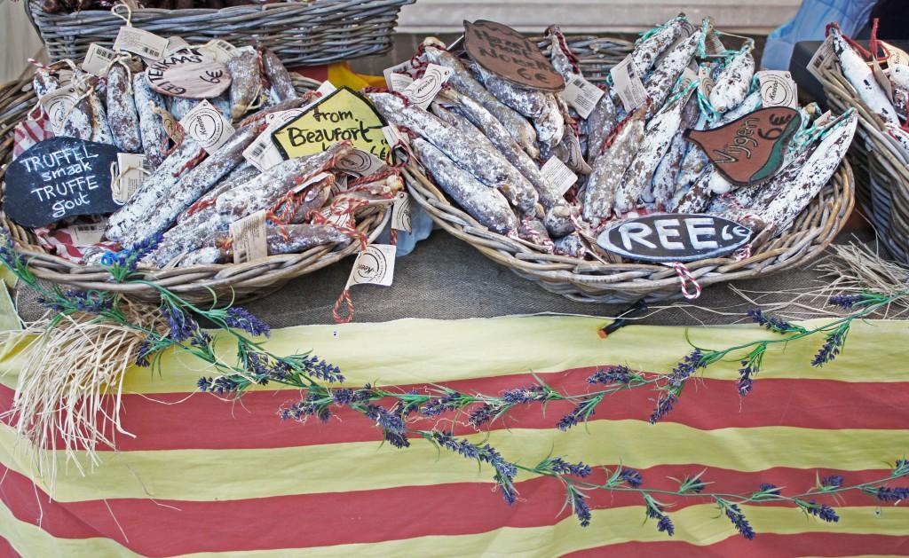 Stadshal y el mercado de Fiesta Europa
