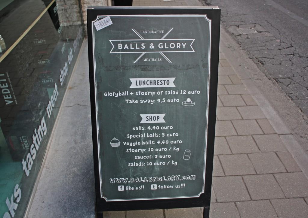 Balls & Glory: albóndigas rellenas de gloria