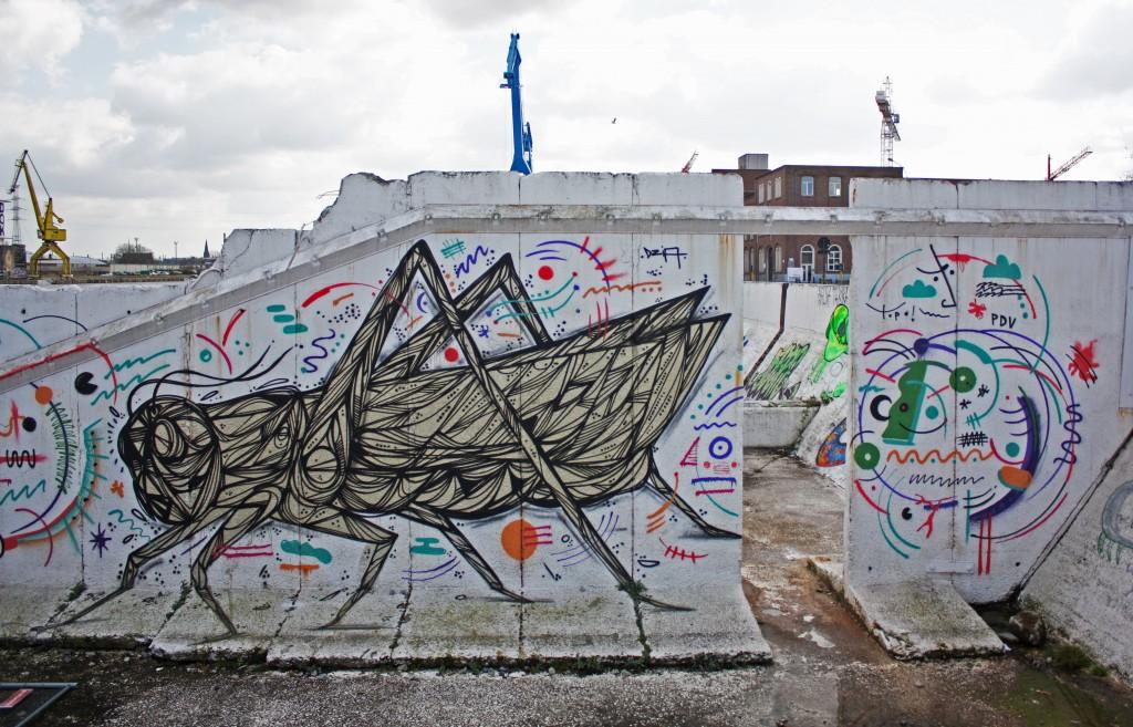 Graffiti en Gante