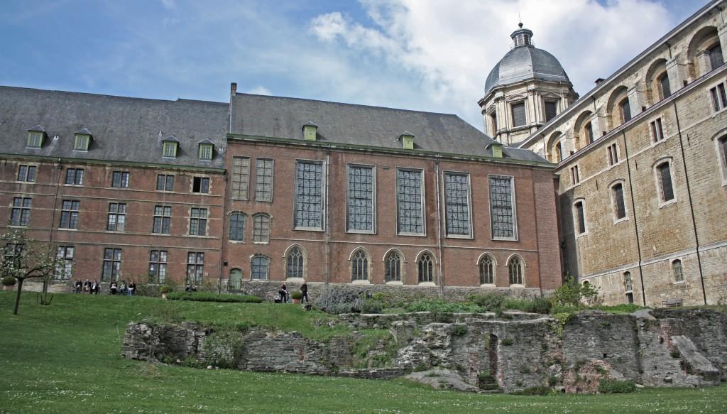 Entrevista a una Erasmus en… el jardín de la abadía de Sint-Pieters (Gante)