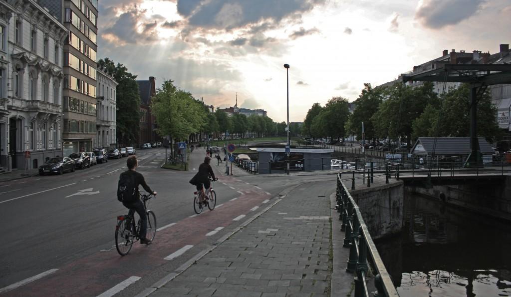 Cuatro rutas para descubrir Gante en bicicleta