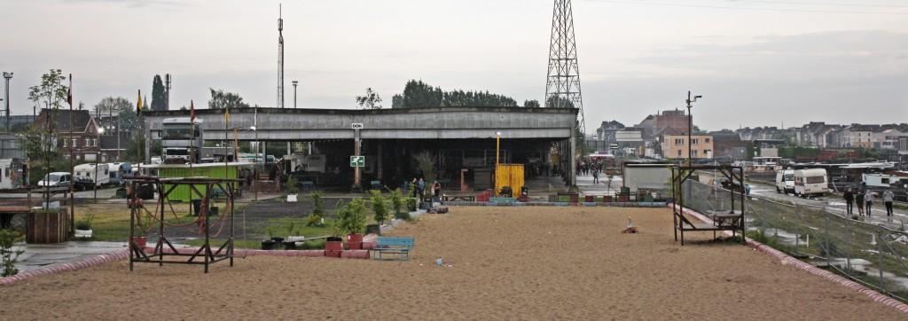 En Gante no hay playa, pero tienen el DOK