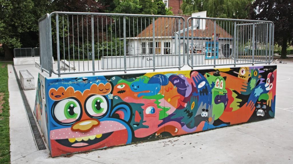 Keizerpark: relax, barbacoa y un 'skate park'