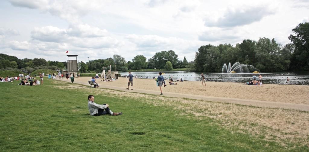 """Blaarmeersen: la """"playa"""" de Gante"""