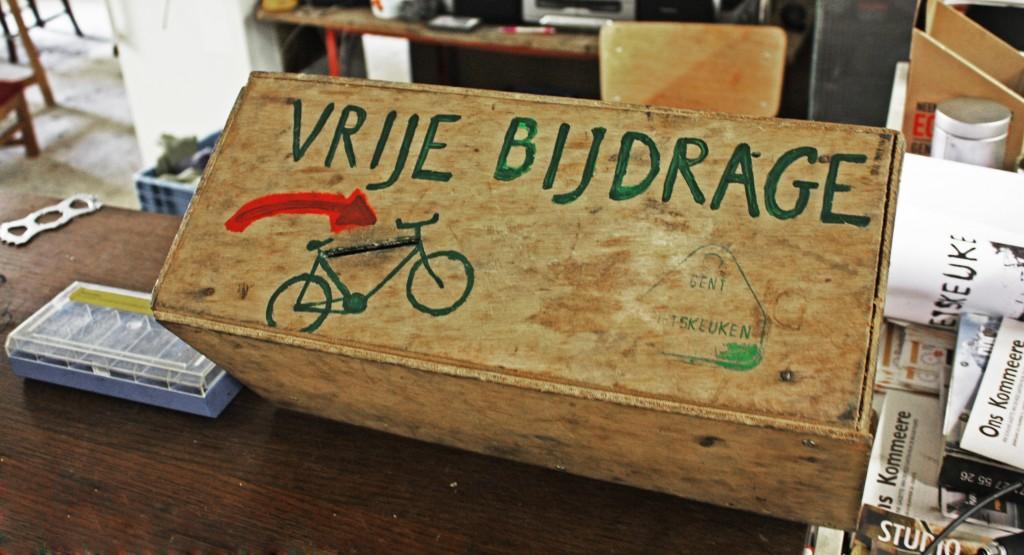 """Gent Fietskeuken: """"la cocina de las bicicletas"""""""