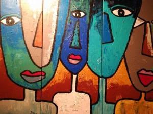 exposición arte abstracto Jaco Acryl Art: la fusión del arte y la música - exposici  n arte abstracto 300x225 - Jaco Acryl Art: la fusión del arte y la música