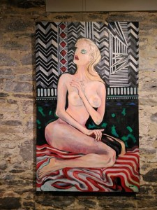 exposición arte abstracto 4 Jaco Acryl Art: la fusión del arte y la música - exposici  n arte abstracto 4 225x300 - Jaco Acryl Art: la fusión del arte y la música