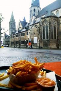 Dulle Friet ¿Patatas fritas vegetarianas? Las mejores, en Gante. - IMG 20160307 WA0018 202x300 - ¿Patatas fritas vegetarianas? Las mejores, en Gante.