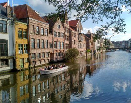 ¡Navega tu propio barco en Gante!
