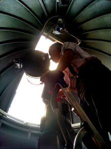 Observatorio Armand Pien (5) Armand Pien, el universo visto desde Gante - Observatorio Armand Pien 5 225x300 - Armand Pien, el universo visto desde Gante