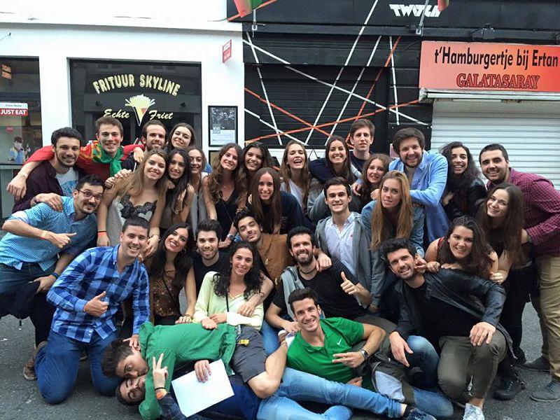 ¡Entrevista a Erasmus españoles en Gante!