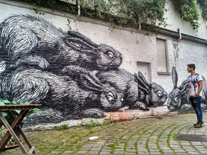 Gante, hogar de grafiteros