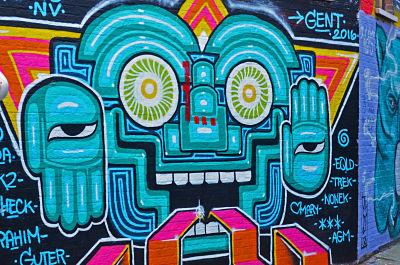 Pista libre, grafiteros