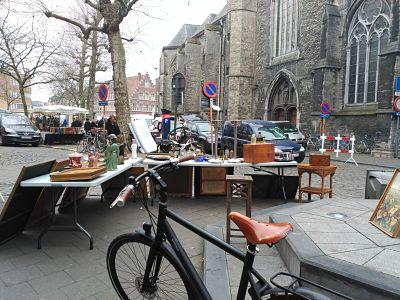 Bij Sint-Jacobs: el mercado más sorprendente de Gante