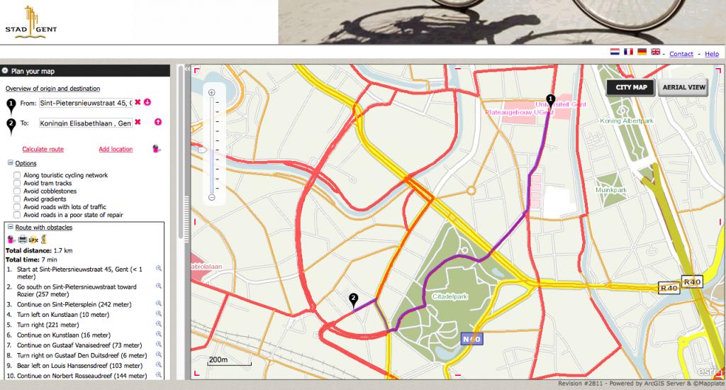 Moverse en Gante, seguro y fácil - routeplanner 1024x550 - Moverse en Gante, seguro y fácil