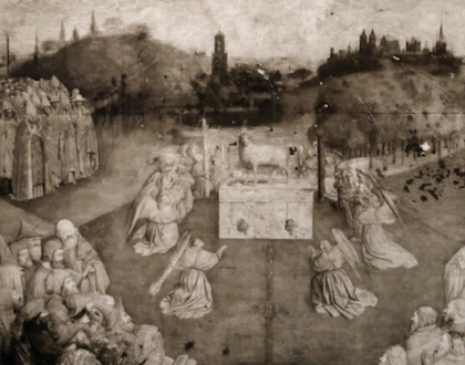 La restauración de La Adoración del Cordero Místico (2012 - 2019)