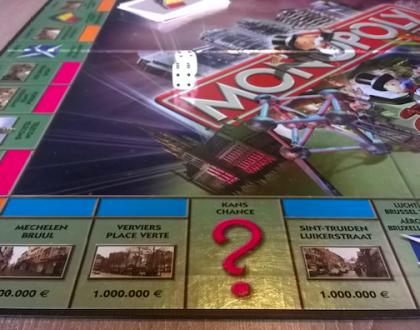 Jugando al Monopoly: las calles más famosas de Flandes