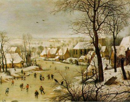 ¡Nieve en Gante!