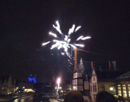 Nochevieja en Gante