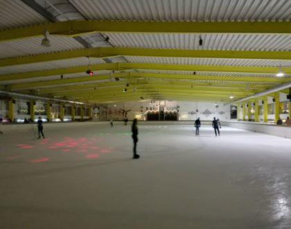 Patinar sobre hielo en Gante