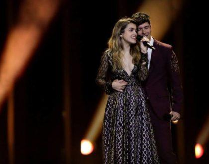 ¡Apoyando a España en Eurovisión desde Gante!