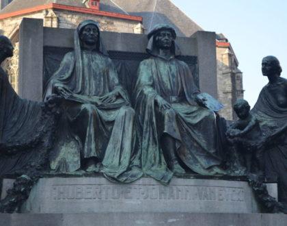Un homenaje a los hermanos Van Eyck