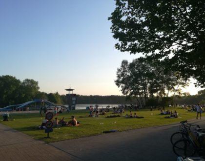 Blaarmeersen | La playa de Gante