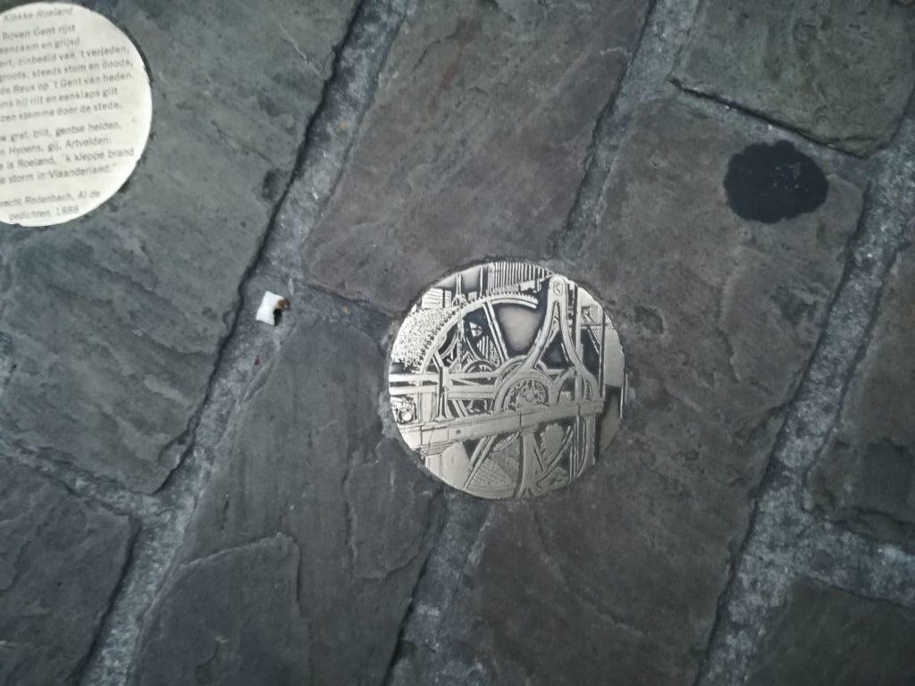 La ruta de las monedas en Gante