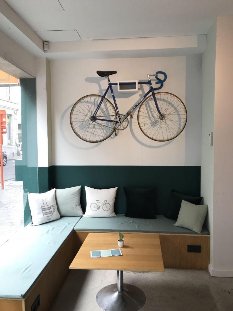 Pedaleur de Flandres: mucho más que una cafetería