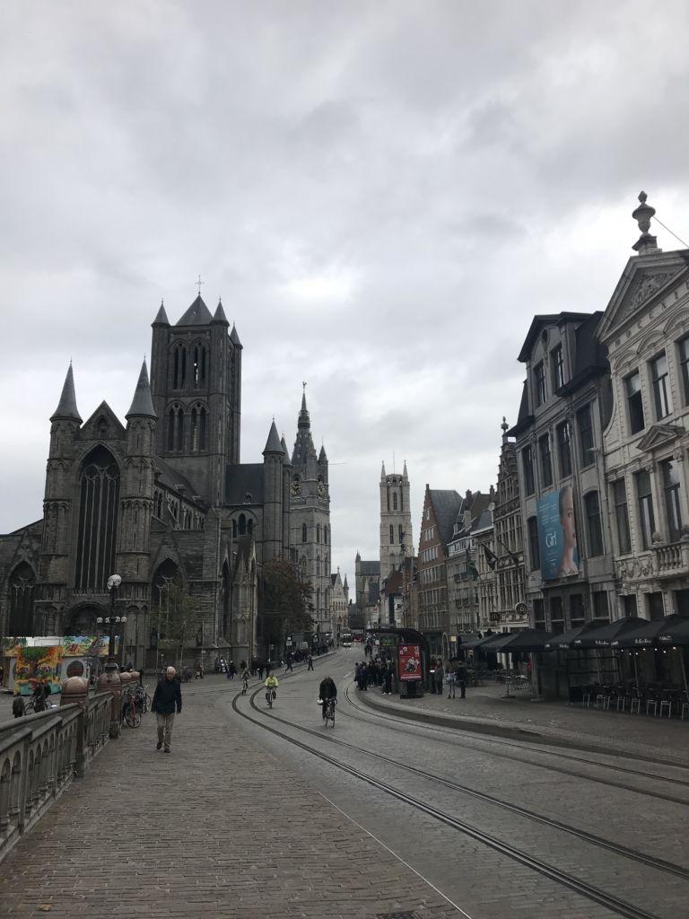 Las tres torres de Gante: el skyline medieval