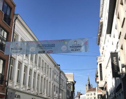 De compras en Gante: fin de semana del cliente