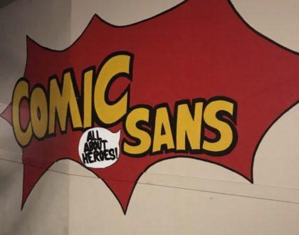 Comic Sans: el hogar de los superhéroes