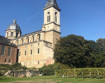 Rincones de Gante: Jardín de la Abadía de San Pedro