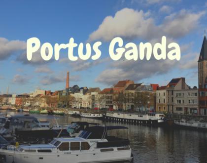 Portus Ganda: en la confluencia del Lys y el Escalda