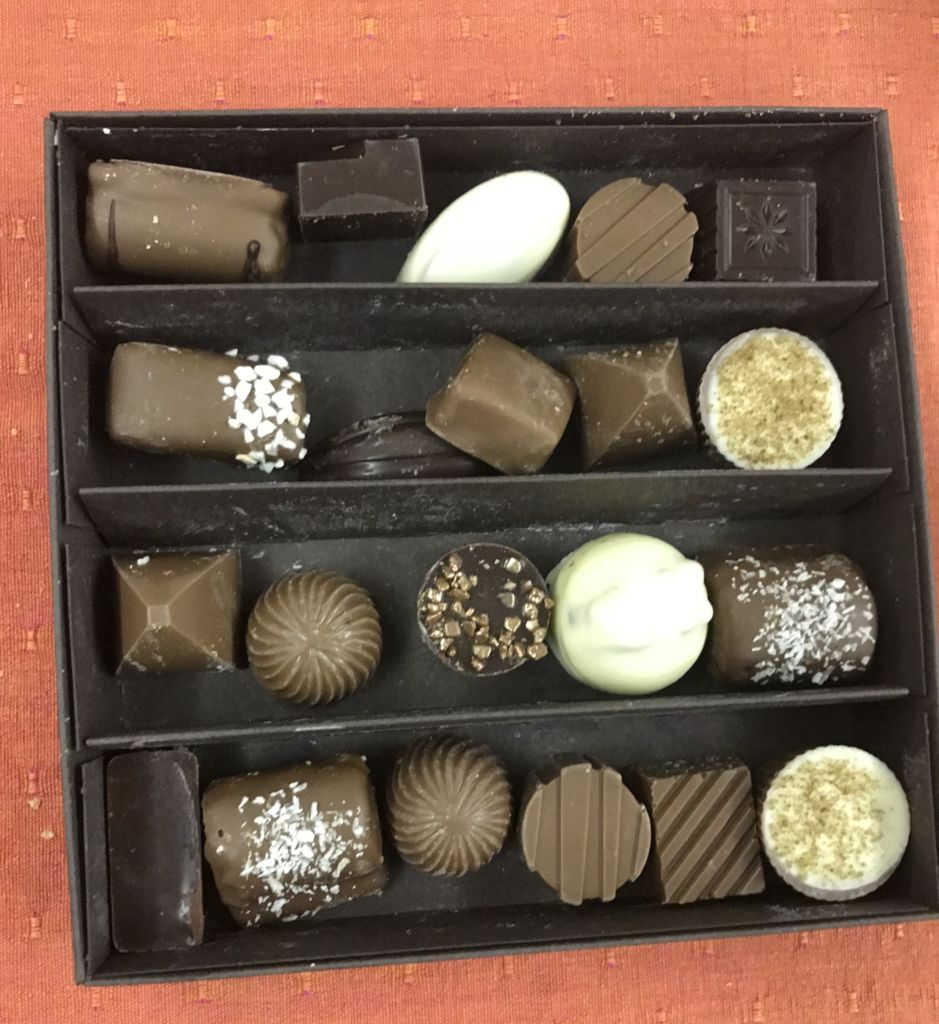 Chocolate artesanal en Gante: Chocolatería Van Hoorebeke