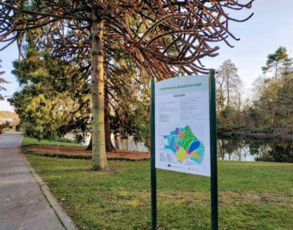 El jardín botánico de la Universidad de Gante