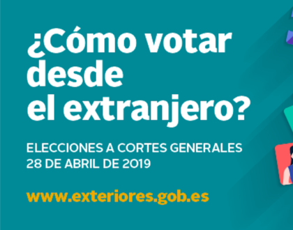 Guía para votar en las elecciones del 28 de abril