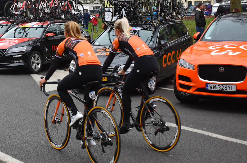 Gent-Wevelgem, ciclismo profesional