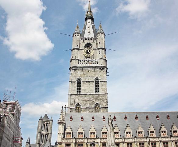 La torre Belfort en Gante