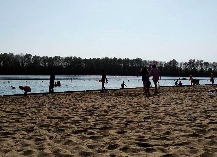 Chapuzones al aire libre en verano