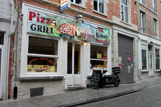 pizza gril