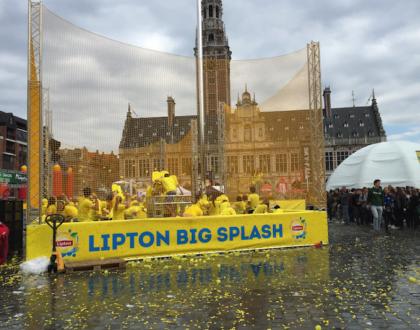 Sumérgete en el Lipton Big Splash