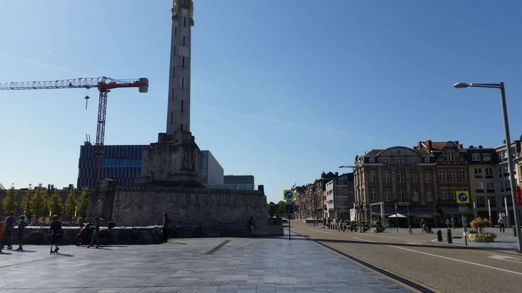 plaza de los Mártires Martelarenplein, la primera impresión de Lovaina - plaza de los M  rtires - Martelarenplein, la primera impresión de Lovaina