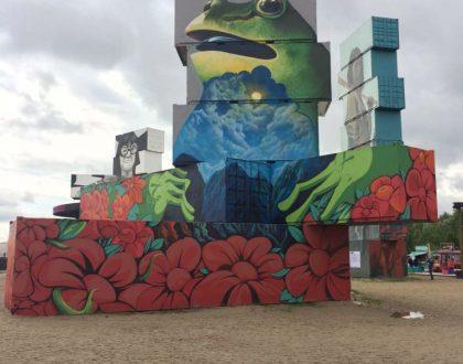 North West Walls: arte urbano en pleno Rock Werchter