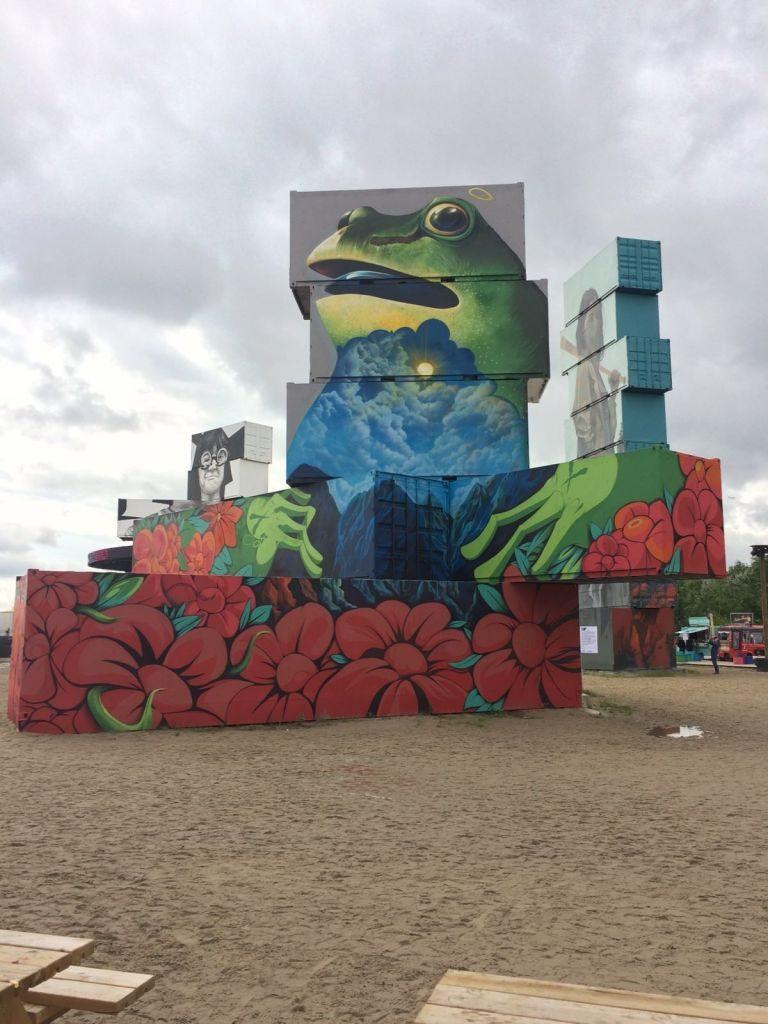 IMG-20160701-WA0005 North West Walls: arte urbano en pleno Rock Werchter - IMG 20160701 WA0005 768x1024 - North West Walls: arte urbano en pleno Rock Werchter