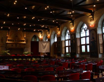Impresionante Lovaina (III): El interior del Ayuntamiento