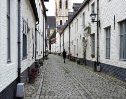 Abadía de Santa Gertrudis y Klein Begijnhof: paz y tranquilidad