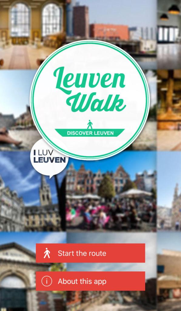 Descubrir Lovaina con el móvil: Leuven Walk