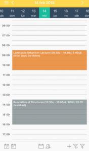Quivr, la app para estudiantes - quivr horario 176x300 - Quivr, la app para estudiantes